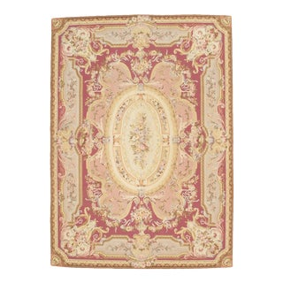 "Pasargad Ny French Abusson Weave Flat Weave Rug - 8'10"" X 12' For Sale"