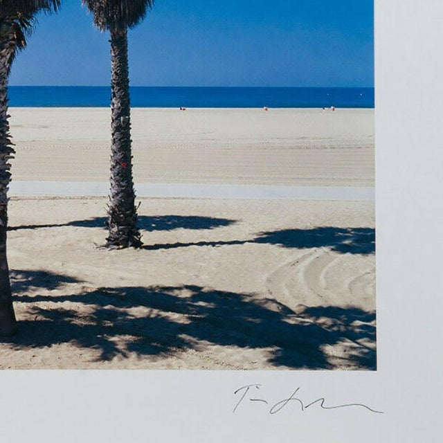 """Limited edition lithograph titled """"Ocean Park"""" signed and numbered print by photographer Tim Street Porter. Image was..."""