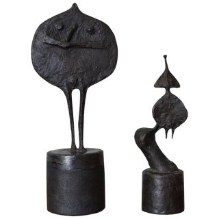 Pair of Bronze Sculptures by Ruth Duckworth