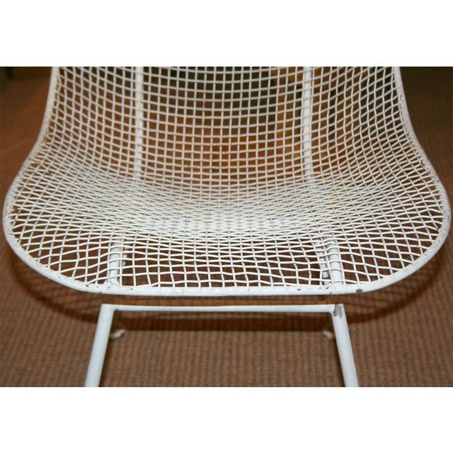 Woodard Jet Age Wire Mesh Outdoor Chairs - Set of 24 For Sale - Image 10 of 10