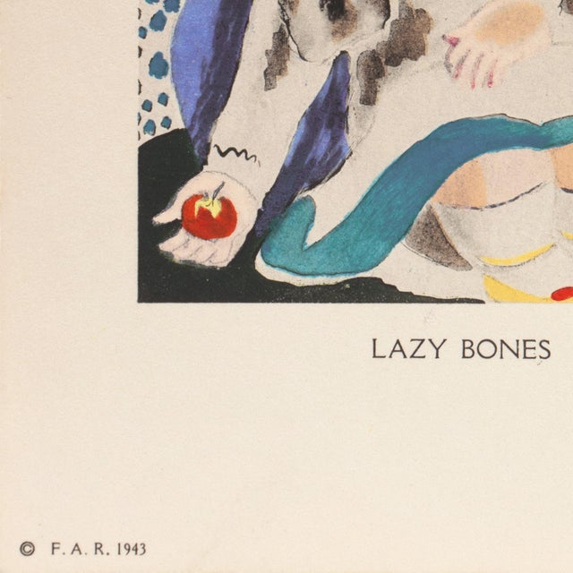 Lazy Bones by Nura Woodson Ulreich, 1943 For Sale - Image 6 of 13