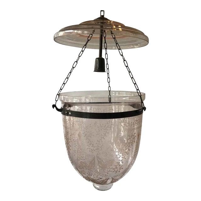 Pink Bell Jar Lantern For Sale