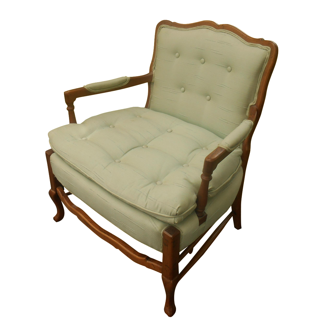 North Hickory Furniture Co. Lounge Chair For Sale