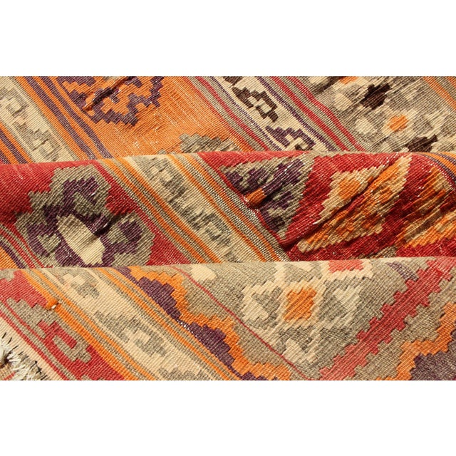 Keivan Woven Arts, S12-0601, 1930's Antique Moroccan Kilim Rug - 5′ × 9′10″ For Sale - Image 9 of 11