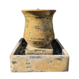 Earth Ware Fountain For Sale