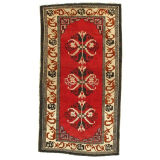 Pasargad Antique Chinese Peking Hand-Knotted Rug - 3′ × 5′9″ For Sale