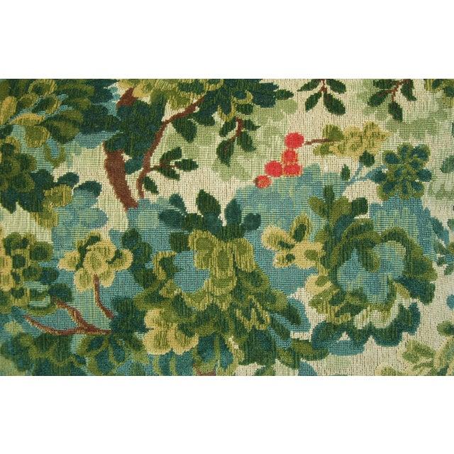 Designer Scalamandre Velvet Marly Pillows - Pair - Image 10 of 11