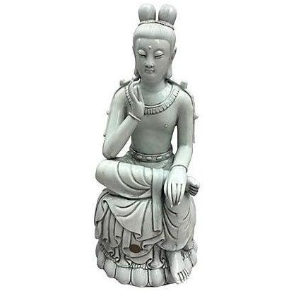 Blanc De Chine Seated Buddha - Image 1 of 6