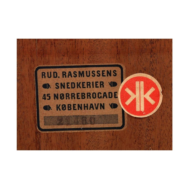 1930s Kaare Klint Cabinet in Cuban Mahogany for Rud Rasmussen For Sale - Image 5 of 6