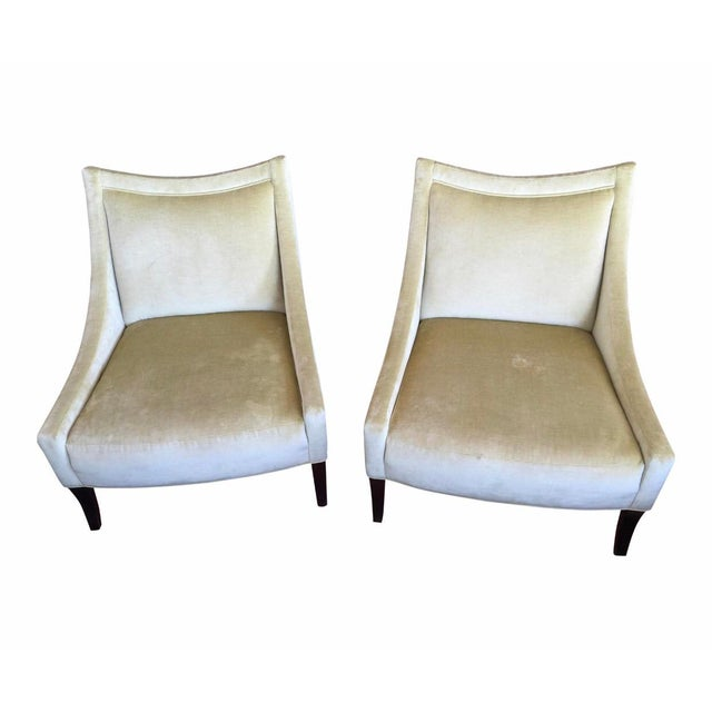 Baker Tivoli Lounge Chairs- A Pair For Sale - Image 10 of 10