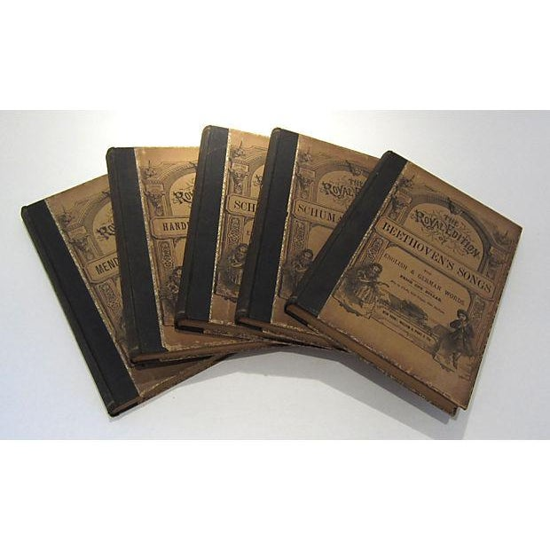 Antique Traditional Song Books - Set of 5 - Image 2 of 5