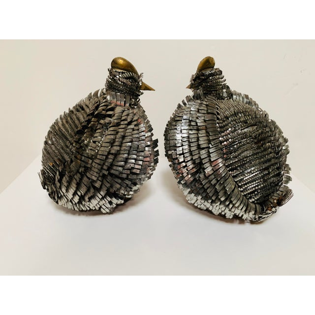 Late 20th Century Late 20th Century Sergio Bustamante Brutalist Bird Sculptures - a Pair For Sale - Image 5 of 11