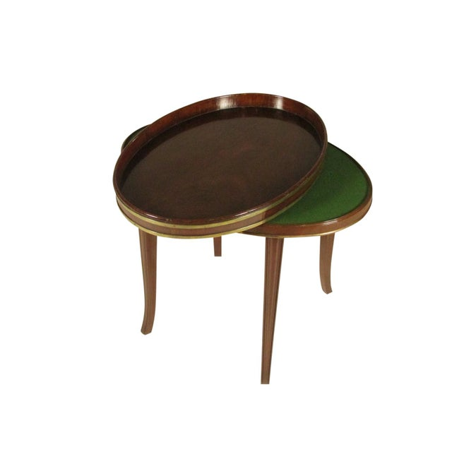 Brown 18th-C Mahogany Butler's Tray on Stand For Sale - Image 8 of 11