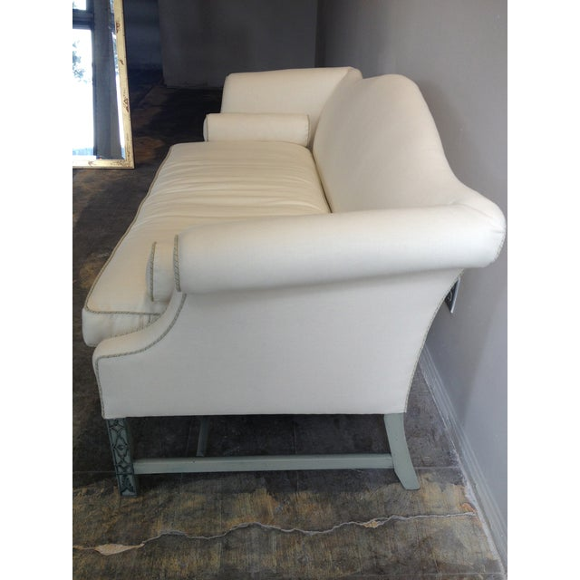 Kittinger Chippendale Sofa With Fretwork Legs - Image 3 of 5