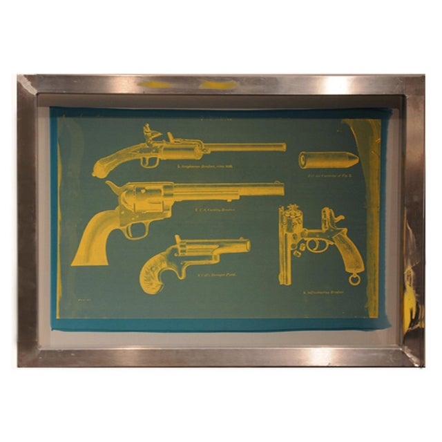 Pistol Silkscreen Art - Image 1 of 2
