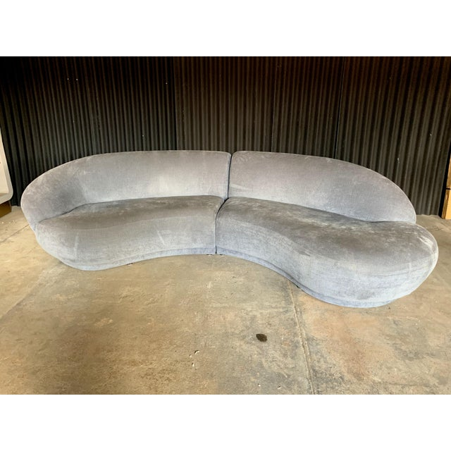 Milo Baughman for Thayer Coggin Two Piece Sectional For Sale - Image 9 of 10