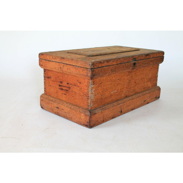Rustic Wooden Storage Trunk For Sale In Milwaukee - Image 6 of 11