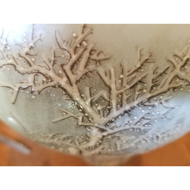 Vintage Chinese Winter Scene Vase For Sale In Los Angeles - Image 6 of 8