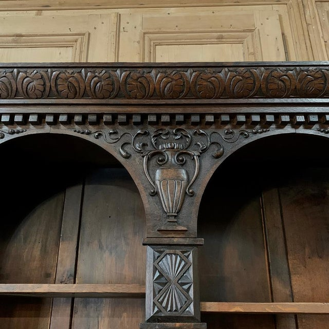 19th Century Renaissance Bookcase For Sale In Dallas - Image 6 of 13