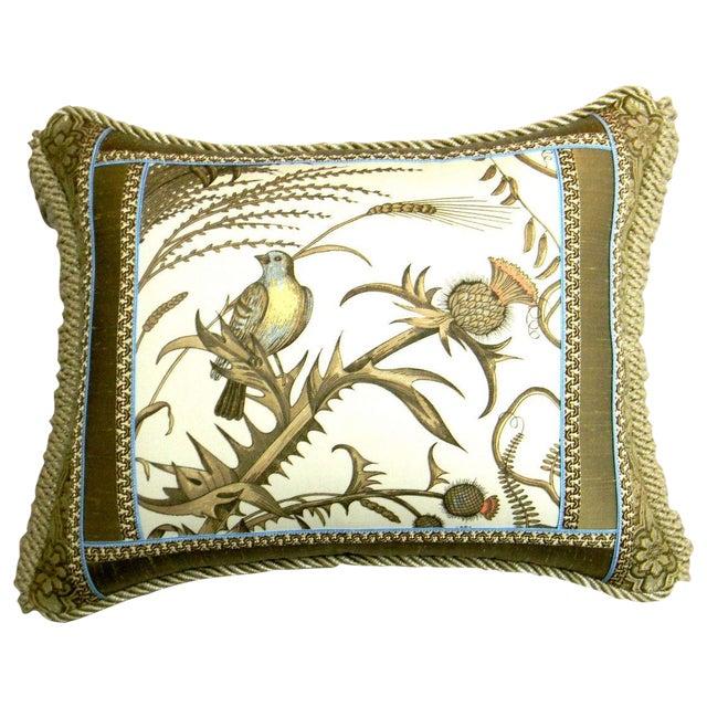 Brunschwig Fils Thistle Designer Accent Pillow For Sale