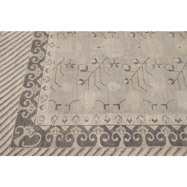 21st Century Modern Kohtan Wool Rug For Sale In New York - Image 6 of 13