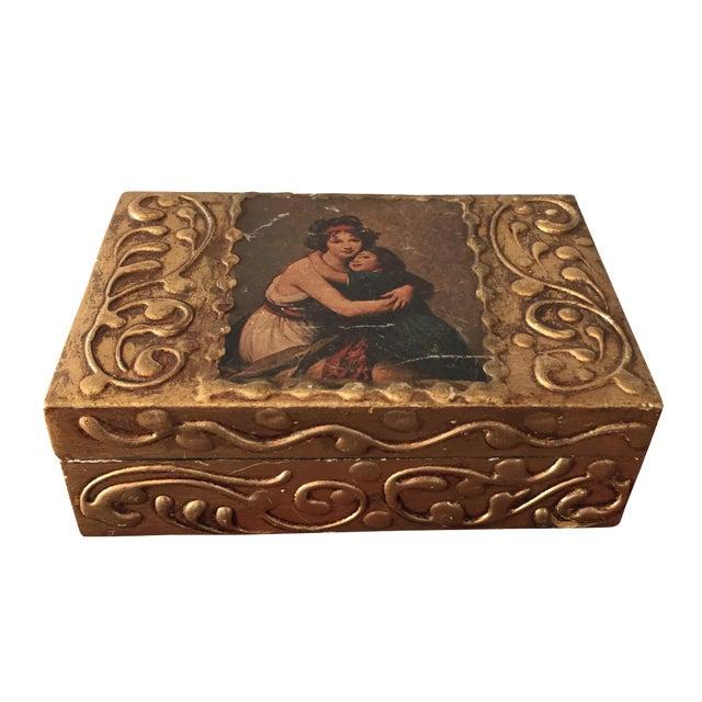 Florentine Wooden Box - Image 1 of 8