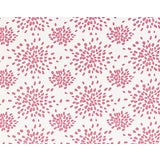 Image of Hinson for the House of Scalamandre Fireworks Fabric in Cupcake Pink For Sale