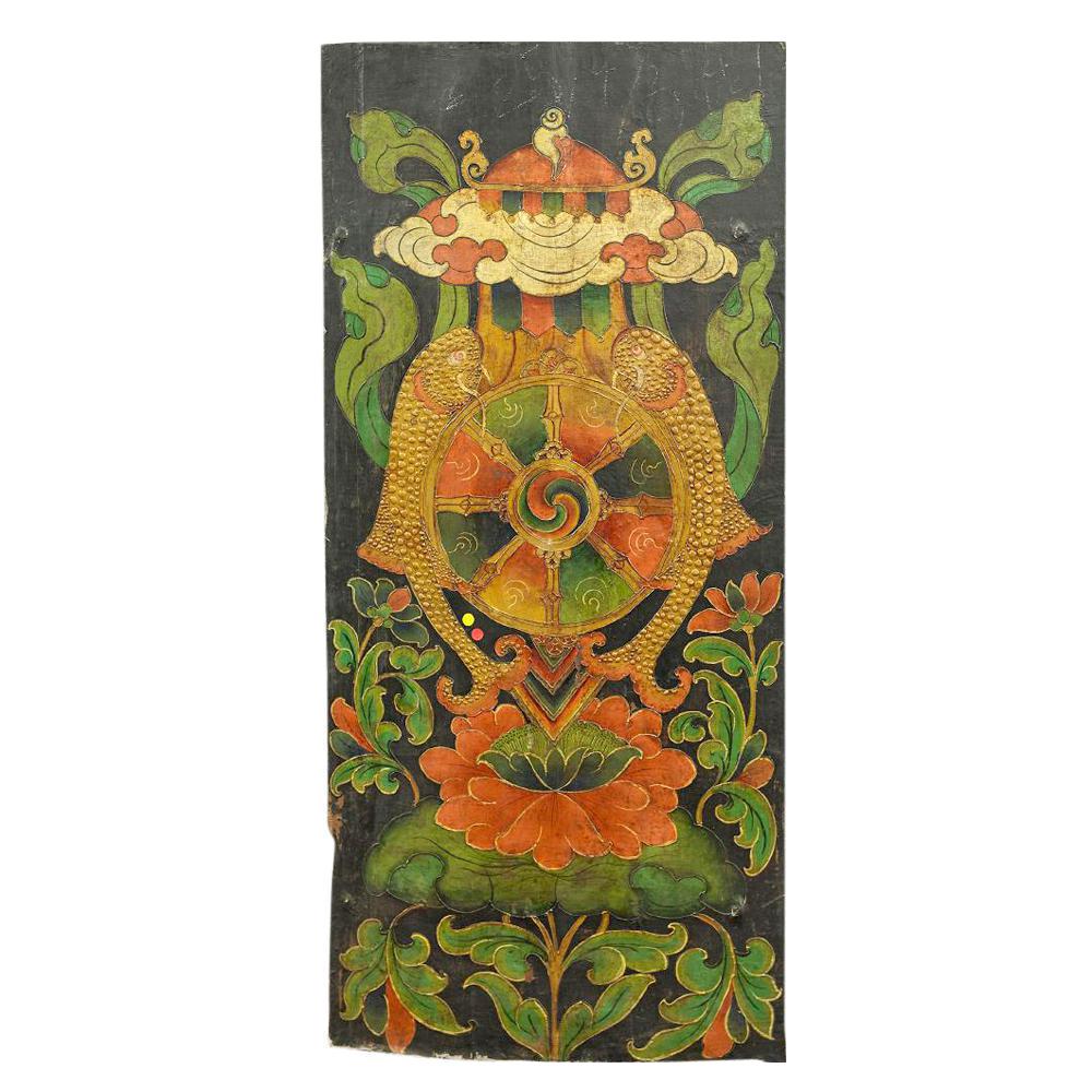 Antique Tibetan Lotus Door  sc 1 st  Chairish & Vintage \u0026 Used Primitive Doors and Gates   Chairish