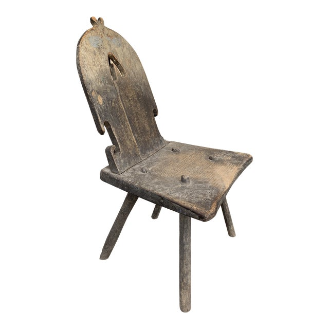 Mid 18th Century Rustic Bavarian Childs Chair For Sale
