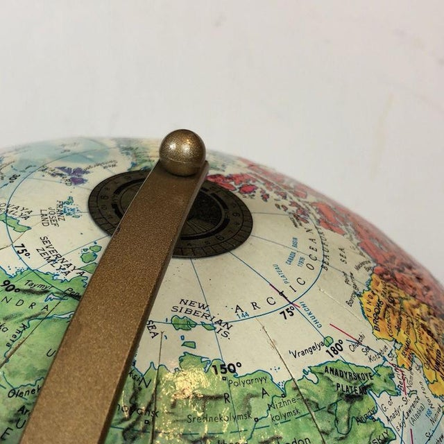 Vintage Replogle World Nations Series Globe Mid Century Decor Table. A useful accessory!