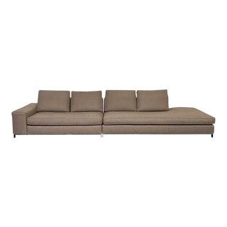 Mid-Century Modern Minotti 'Williams' Sofa For Sale