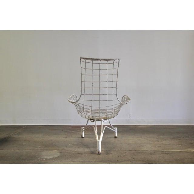 1950s 1950s Vintage Vladimir Kagan Capricorn Lounge Chair For Sale - Image 5 of 12