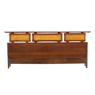 California King Walnut Headboard For Sale