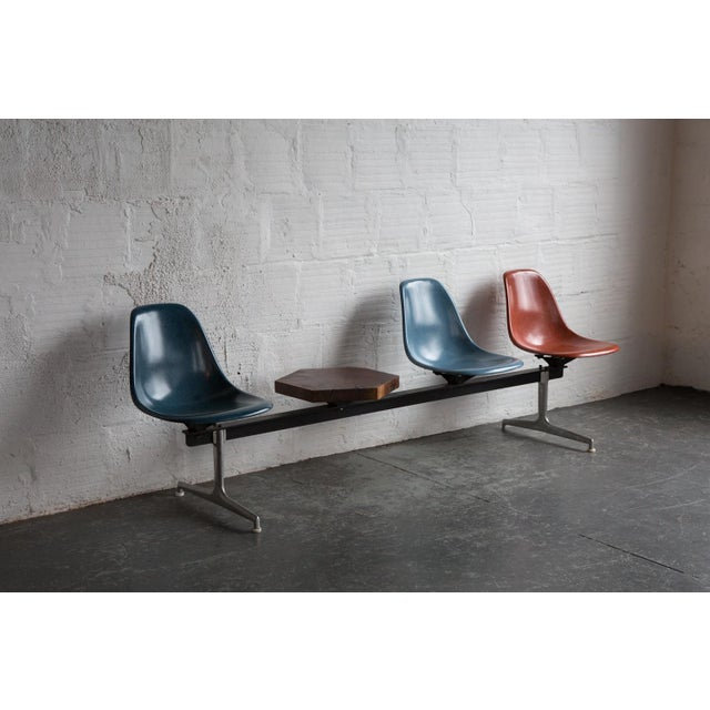 Mid-Century Modern Custom Eames Airport Bench For Sale - Image 3 of 5
