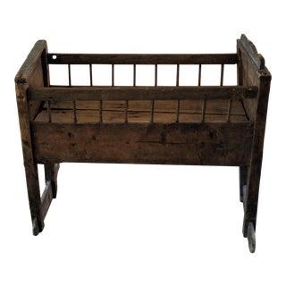 Antique Style Rocker Crib For Sale