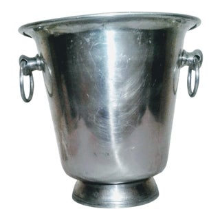 1970s Metal Ice Bucket For Sale