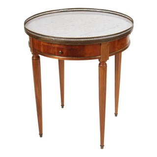 Vintage Louis XVI Style Bouillotte Table For Sale