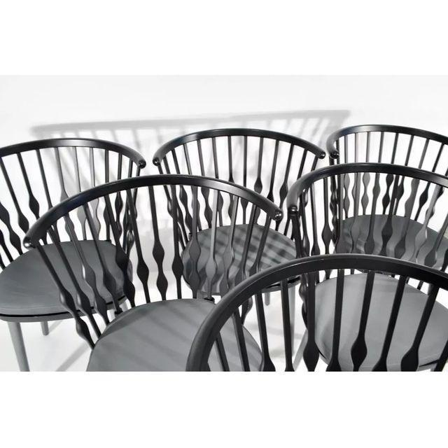 Patricia Urquiola Patricia Urquiola Nub Armchairs - Set of 6 For Sale - Image 4 of 10