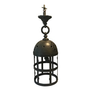 Antique High Quality Solid Brass Lantern Light For Sale