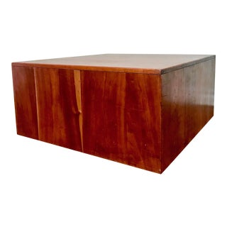 Mill Baughman Inspired Cube Coffee Table
