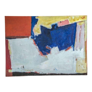 1960s Abstract Painting For Sale