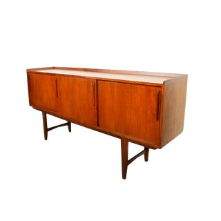 Arne Vodder Danish Modern Teak Credenza For Sale
