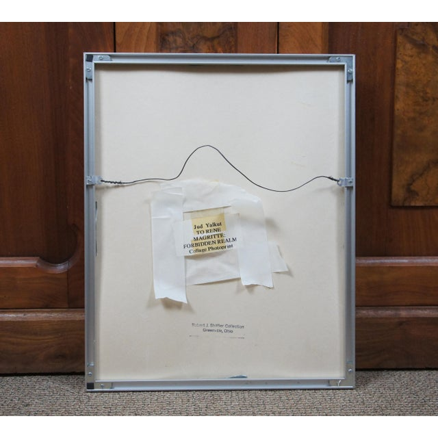 To Rene Magritte: Forbidden Realm 1994 Jud Yalkut Photoprint For Sale - Image 4 of 13