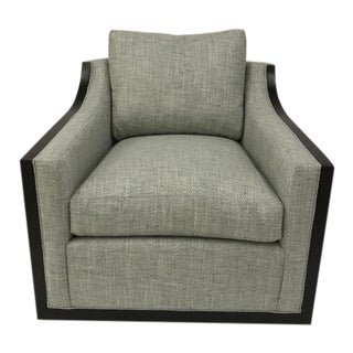 Century Furniture Nash Swivel Chair For Sale