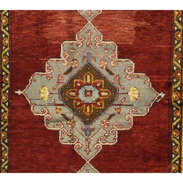 Vintage Turkish Oushak Rug - 4'8'' x 11'3'' - Image 2 of 3