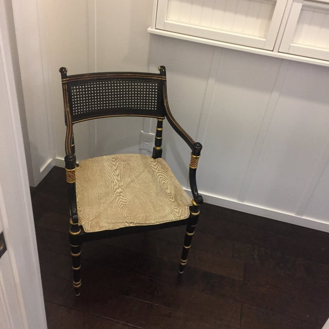 Baker Vintage Regency Style Armchair - Image 7 of 9
