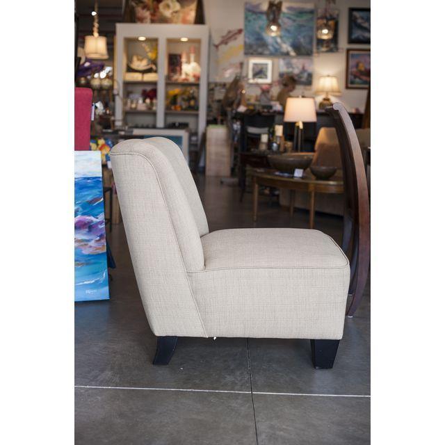 Hiatt Armless Cream Chair - Image 2 of 4