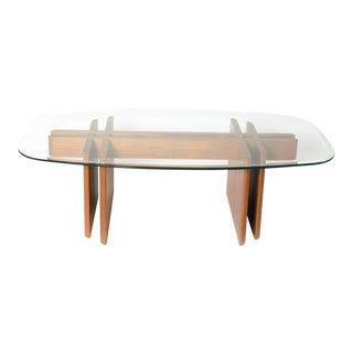 Mid-Century Teak Wood Coffee Table
