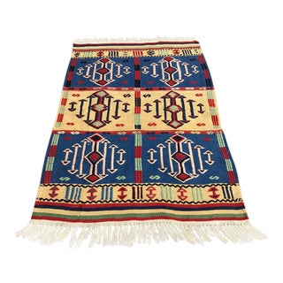 "Turkish Kilim Rug - 2'9"" X 4'3"" For Sale"