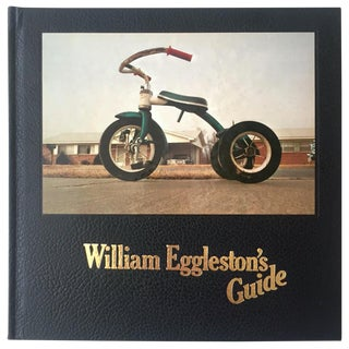 """ William Eggleston's Guide "" Rare Vintage 1976 1st Edtn Landmark Moma Exhibition Iconic Collector's Photography Book For Sale"
